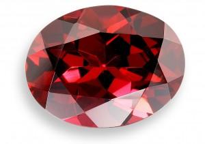 Red Garnet Rhodolite Gemstone