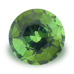 Image of Round Cut Natural Green Tourmaline