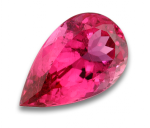 Tourmaline Pink , Pear cut
