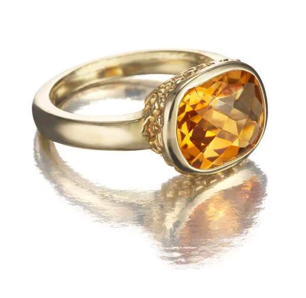 How Do I Clean A Citrine Stone Ring