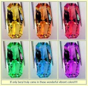 Image of modified yellow beryl Image