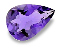 Image of Iolite Pear Cut Natural