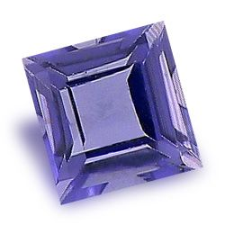 Image of Iolite - Square Cut Natural