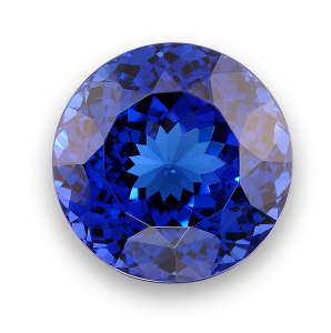 Image of Tanzanite Blue Gemstone