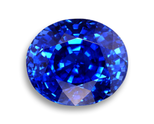 Image of Faceted Blue Sapphire