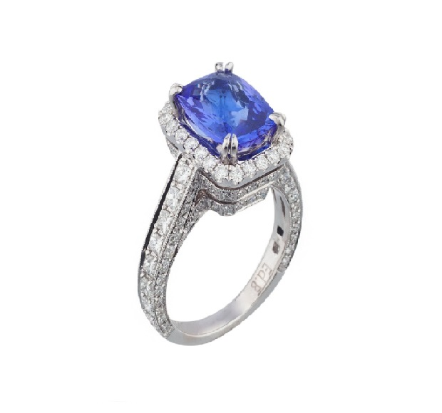 rings, sapphire, white gold, platinum, silver, hanging, diamond, jewelry, gemstones